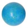 Turquonite Stabilized 12mm Rnd Bead Semi-Precious